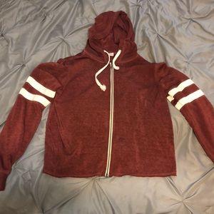 Maroon Full Tilt jacket